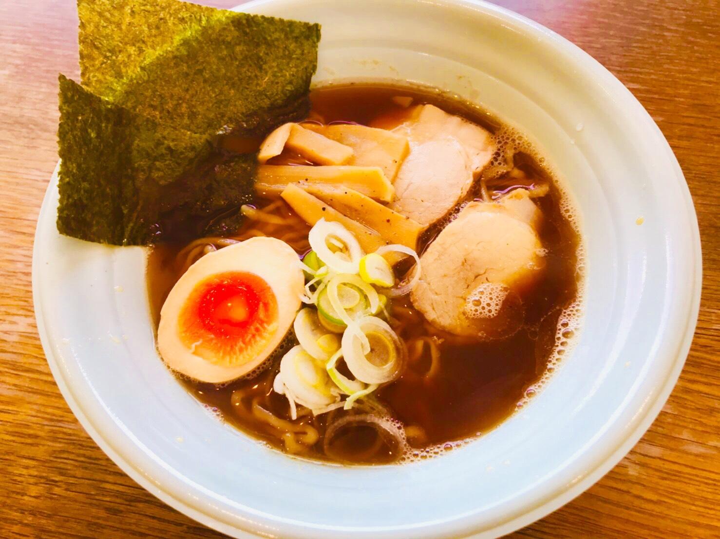 鶏ガラ醤油らー麺
